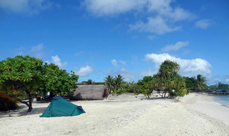 Camping à Fakarava - Tekopa Village