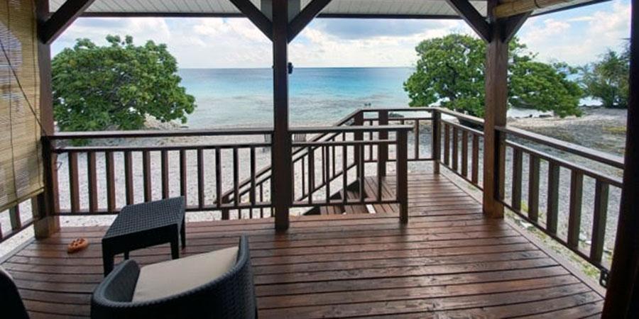 Fafapiti Lodge : vue imprenable sur le lagon