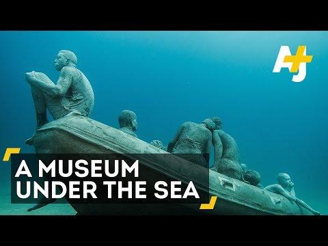 Un musée sous-marin au large des Canaries